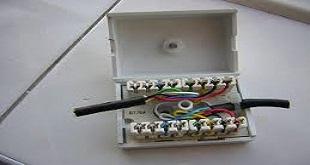 کابل تلفن روکار